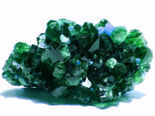 Smaragd Heilstein